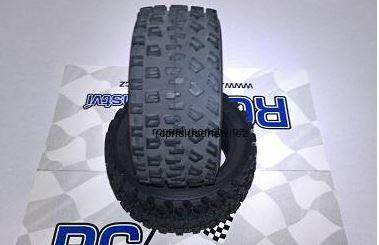 Pneumatika Tamiya 60D rally block tires (2Ks)