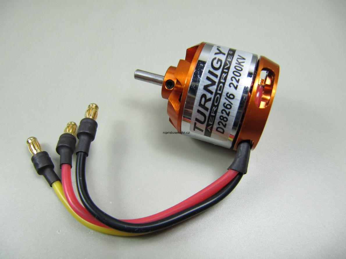 Elektromotory chladi e motor turnigy d2826 6 2200kv for Motor vehicle inspection flemington nj