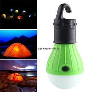 LED žárovka outdoor Camping