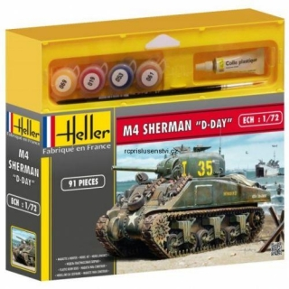 1:72 M4 Sherman D-Day Starter Set